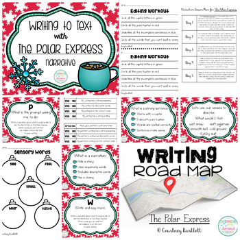 Writing Road Map - The Polar Express (Narrative)