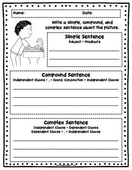 Writing Rock Star Sentences (Simple, Compound, Complex)