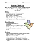 Writing: Roll the Dice!