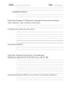 Writing: Rough Draft Organizer for Expository and Descriptive Essays