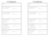 Writing Rubric (Lucy Caulkins Narrative Unit)