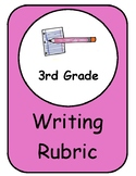Writing Rubric 3rd Third Grade