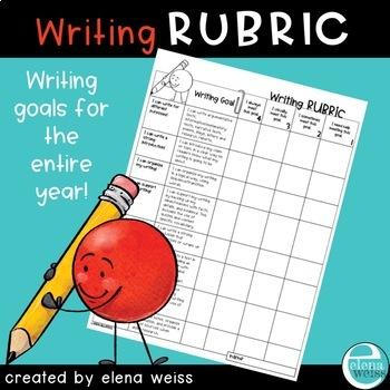 Writing Rubric: I CAN