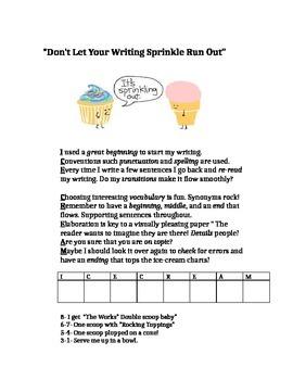 Narrative Writing Rubric