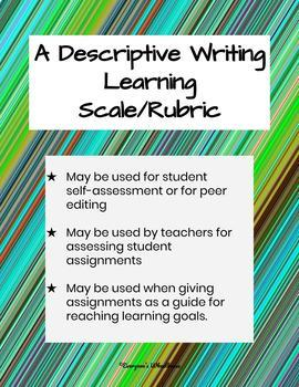Bundled Writing Rubrics/Learning Scales