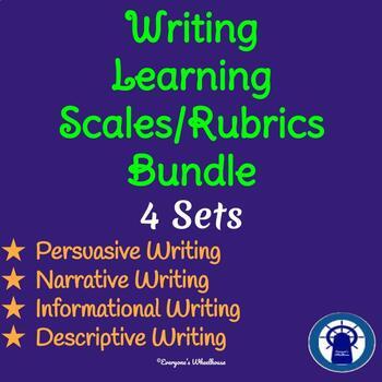 Bundled Writing Rubrics/Learning Scales