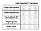Writing Rubric & Self-Evaluation (Freebie)