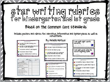 Writing Rubric- Star Writing Rubric