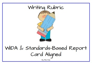 Writing Rubric (WIDA & Standards-Based Report Card Aligned)