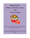 Writing Rubric and Conference Letter