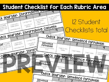 Writing Rubrics 1st Grade: Kid-Friendly Assessments and Checklists