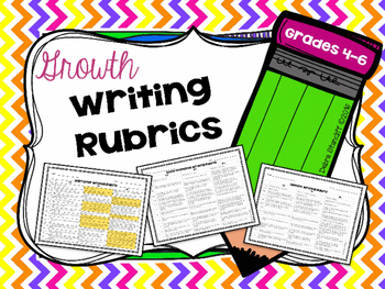 Writing Rubrics Growth