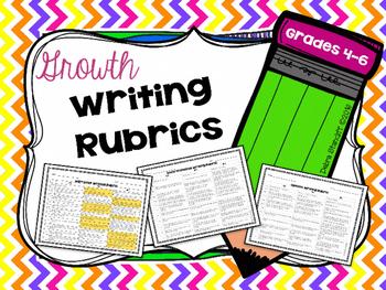 Writing Rubrics Growth