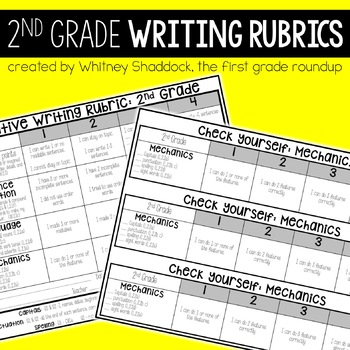 Writing Rubrics 2nd Grade: Kid-Friendly Assessments and Ch