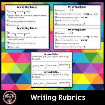 Writing Rubric Goals