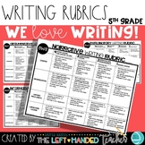 5th Grade Writing Rubrics: Narrative, Argumentative, and I