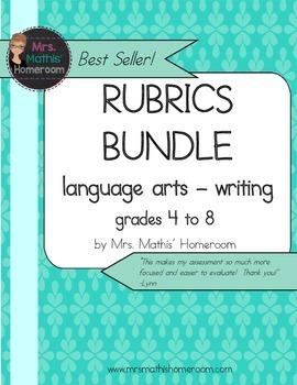Writing Rubrics Bundle