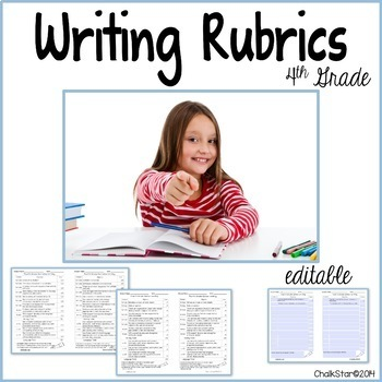 Writing Rubrics Fourth Grade