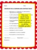 Writing Rubrics & Checklists to Evaluate Student Work (CCS