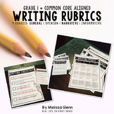 Writing Rubrics Common Core First Grade