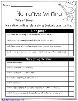 Writing Rubrics {Freebie}