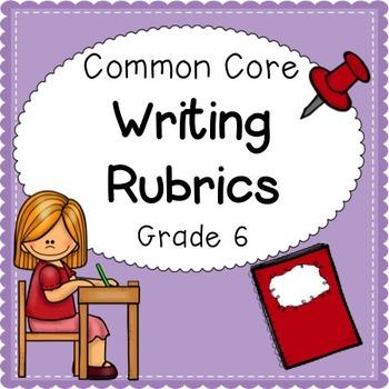 Writing Rubrics Grade 6