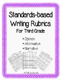 Writing Rubrics: Opinion, Informative, and Narrative