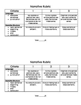 Writing Rubrics Pack