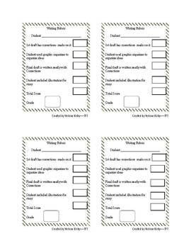 Writing Rubrics Packet