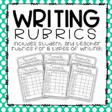 Writing Rubrics- Student and Teacher Rubrics