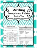 Writing Rubrics and Prompts for all year Narrative, Informational and Opinion