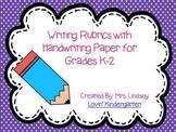 Writing Rubrics for K-2