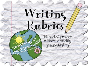 Writing Rubrics for Various Styles