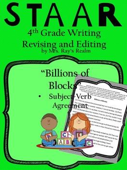 Billions of Blocks-STAAR Writing Revising and Editing