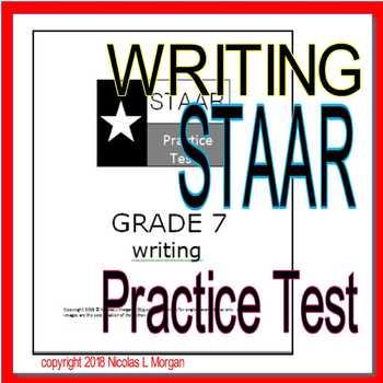 STAAR Writing Practice Test, Grade 7