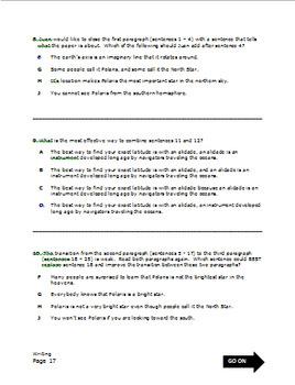 STAAR Writing Practice Test, Grade 7 by Nicolas Morgan ...