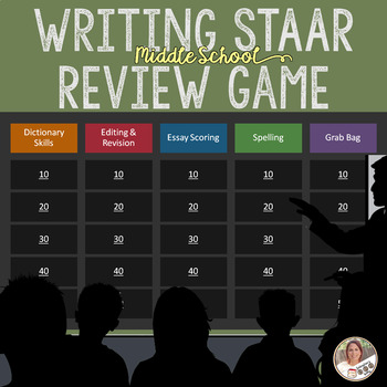 Writing STAAR Review Game 2.0- Secondary ELAR