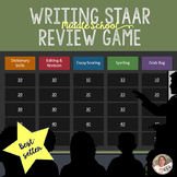 Writing STAAR Review Game- Middle School Grades