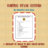 Writing STAAR Centers Checklist