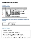 4th grade Writing STAAR - Ready-to-Use Supplemental Aids Spanish