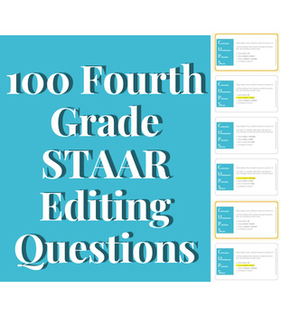 100 Writing STAAR bellringers (includes special offer*)