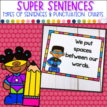 Writing SUPER Sentences- Types of Sentences and Punctuatio