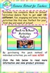 Writing Sample Templates Back to School or End of Year Fun