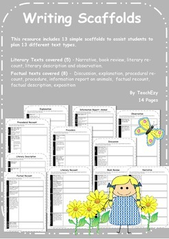 Writing Scaffolds for Students