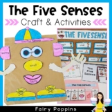 Writing & Five Senses Craftivity: Mr and Mrs Potato Head