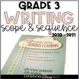 Writing Scope and Sequence 3rd Grade