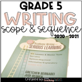 Writing Scope and Sequence 5th Grade