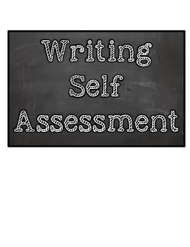 Writing Self Assessment FREEBIE