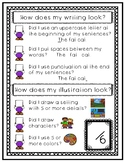 Writing Self Check for Beginning Writers