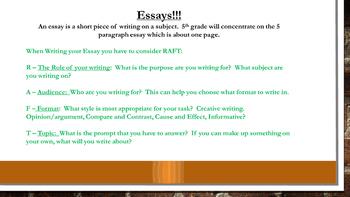 Writing Seminar Part 2